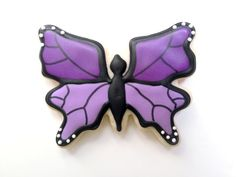 Monarch Butterfly Sugar Cookies by guiltyconfections on Etsy