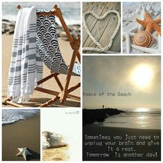 Peace of the beach. #moodboard #mosaic #collage #inspirationboard #byJeetje♡