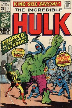 Incredible Hulk King-Size Special # 3 by Herb Trimpe