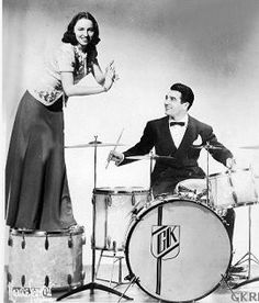 Miss O'Day with Gene Krupa
