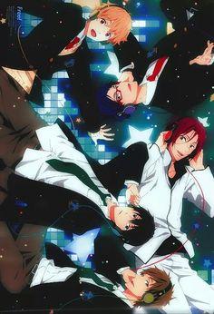 Nagisa, Rei, Rin, Haruka and Makoto - Music