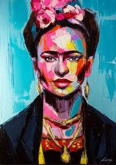 frida kahlo paintings portraits Svetlana Tikhonova - Paintings for Sale Colorful Paintings, Paintings For Sale, Amazing Paintings, Inspiration Art, Art Inspo, Canvas Artwork, Canvas Art Prints, Frida Kahlo Portraits, L'art Du Portrait