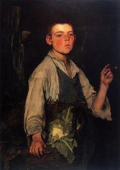The Cobbler's Apprentice   Frank Duveneck ,1887