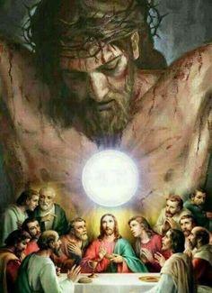 God and Jesus Christ Jesus Our Savior, Jesus Art, Jesus Is Lord, Catholic Pictures, Pictures Of Jesus Christ, Catholic Art, Religious Art, Jesus Drawings, Jesus Painting
