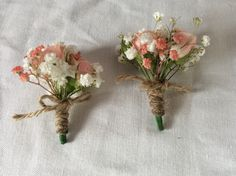 Peach,Ivory with jute