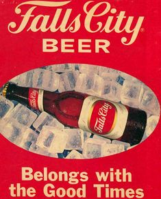 Vintage Beer Poster - Falls City