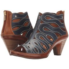 9a23028bf666 Pikolinos Java W5A-7569 (Ocean Brandy) Women s Shoes ( 185) ❤ liked on  Polyvore featuring shoes
