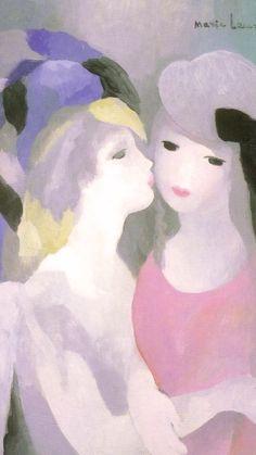 マリー・ローランサン / Kiss Marie Laurencin – Kiss 1080×1920   壁紙ギャラリー KAGIROHI Type Illustration, Magic Art, Western Art, Types Of Art, Artist Art, Lovers Art, One Pic, Les Oeuvres, Still Life