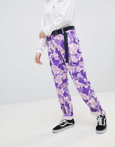 Rip N Dip | RIPNDIP Cuffed Trousers In Camo Co-Ord