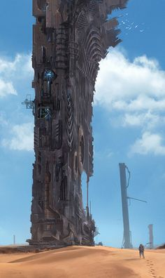 Monolith Building by Julian Kok   Architecture   2D   CGSociety
