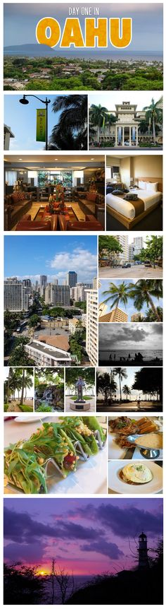 There's so much to do in Oahu! Here's a guide of what we did on our first day in this wonderful place.