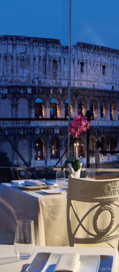 ~Dining Across From The Colosseum - Rome, Italy | House of Beccaria
