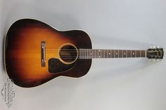 Gibson J-45 Banner (ca. 1942) Sunburst, Mahogany - Adirondack, OSC, EC! | eBay
