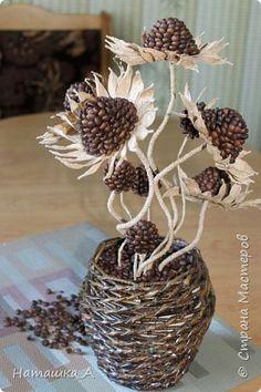 Кофейно-фисташковые цветы фото 3