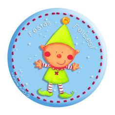 Natal... (Ilustração de Carla Antunes) Magical Images, Tweety, Christmas Time, Diy, Clip Art, Printables, Drawings, Cards, Fictional Characters