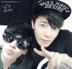 Eunhyuk & Donghae<3