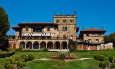 Palacio de Lezama-Leguizamon en Arriluze, Getxo, Bizkaia.