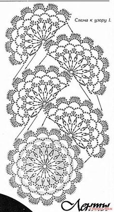 """diy_crafts-Camino o terminacion """"flower crochet scarf in one go! no need to attach the motifs to one another! flower crochet scarf in one go! Bonnet Crochet, Crochet Lace Edging, Crochet Motifs, Crochet Borders, Crochet Diagram, Crochet Chart, Thread Crochet, Love Crochet, Crochet Scarves"""