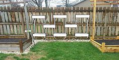 AndyJo - Fence Herb Planters