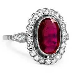 The Margalit Ring #BrilliantEarth #Vintage