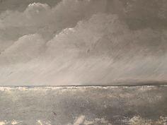 """""""Tempête"""" Acrylique sur toile 50 x 70 cm Painting, Art, Toile, Art Background, Painting Art, Kunst, Paintings, Performing Arts, Painted Canvas"""