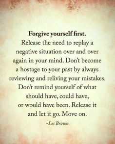 I need to remember this.. I struggle w forgiveness