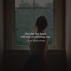 One day her heart will stop mentioning you. r.h. Sin via (http://ift.tt/2ocdo8L)
