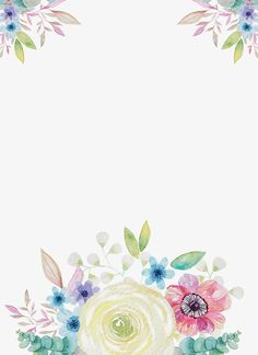 trendy Ideas for flowers wallpaper iphone cartoon Fairy Wallpaper, Flower Wallpaper, Wallpaper Backgrounds, Iphone Wallpaper, Flower Boarders, Flower Frame, Flower Art, Iphone Cartoon, Cartoon Flowers