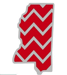 New to FrannysShop1 on Etsy: Mississippi State Decal (6.00 USD)