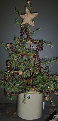 Primitive Early Look Christmas Tree Top Star Aged Finish | eBay