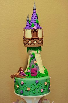 Image detail for -Forged in Cake: Tangled Birthday Cake