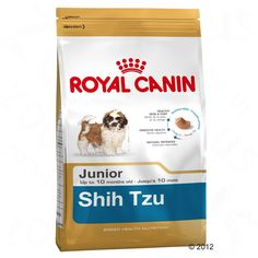 Animalerie  Royal Canin Breed Shih Tzu Junior pour chiot  3 x 15 kg