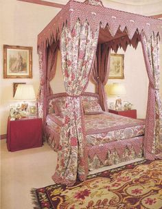 The bedroom of the Plaine Monceau apartment of Madame Antenor Patino as decorated by Francois Catroux