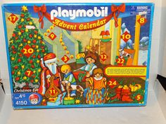 Playmobil Advent Calendar Playset Christmas Eve 4150 flaws 2003