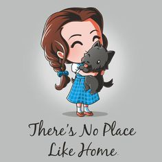 There's No Place Like Home t-shirt Wizard of Oz TeeTurtle Cute Animal Drawings, Cute Drawings, Cute Disney, Disney Art, Chibi, Dibujos Cute, Wizard Of Oz, Disney Drawings, Anime