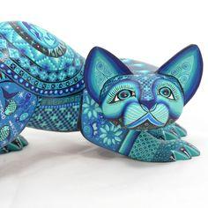 www.artesaniasmarymar.com  Ivan Fuentes & Mayte Calvo: Aquatic Themed Cat 1