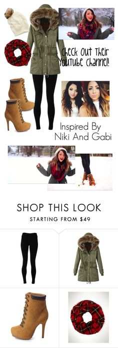 """Outfit Inspired By Niki And Gabi:)"" by asiya162 ❤ liked on Polyvore featuring Solow, Charlotte Russe and Aerie"