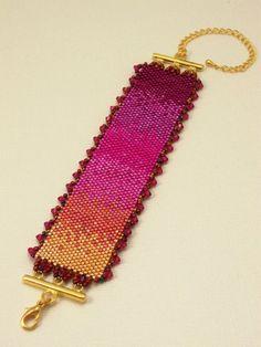 Vera's Bracelet by HauteIceBeadwork on Etsy