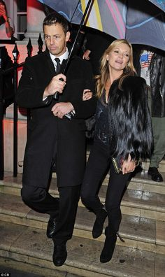 Kate Moss - At the Melissa Flagship launch party.  (October 2014)