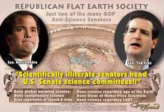 Flat Earth Climate Deniers... Sans Brains and Ethics !