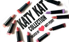 MEOW! Find the best shade for you at www.lipsticknlinguine.com #katyperry #makeup #lipstick #covergirl #makeupreview #swatches #purplelips
