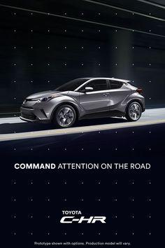 Distinctive style meets rebellious spirit in the first-ever Toyota C-HR. Ads Creative, Creative Advertising, Car Advertising, Advertising Design, Car Head, Tata Motors, Toyota C Hr, Ad Car, Car Brochure