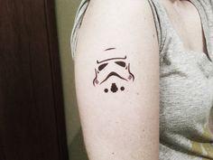 Stormtrooper Star Wars - Temporary Tattoo on Etsy, $5.00