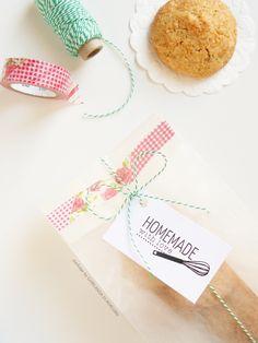 Rochers aux noisettes gift wrap idea