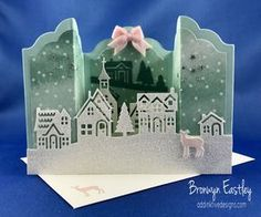 Hometown Greetings Bridge Fold Card for Just Add Ink, #addinktivedesigns