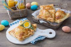 Ricetta Mini pasqualine - La Ricetta di GialloZafferano Ricotta, Eggs, Breakfast, Mini, Food, Carne, Pizza, Easter, Pies