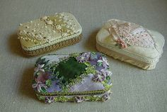 DIY covered Altoid tins.  Cute idea!