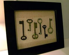 Keys (Shannon, this one's for you)