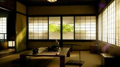 A huge collection of zen inspired interiors, with a look at how traditional Japanese decor has influenced cool contemporary spaces of the world. Japanese Tea House, Traditional Japanese House, Japanese Style, Japanese Homes, Interior Design Shows, Japanese Interior Design, Japan Interior, Japanese Design, Conception Zen