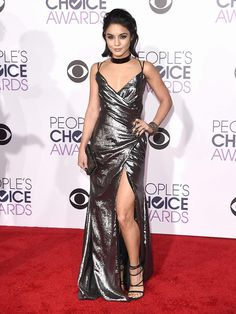 Actress Vanessa Hudgens attends the People's Choice Awards 2016 at Microsoft Theater on January 6, 2016 in Los Angeles, California.   Red Carpet: Julianne Hough, Vanessa Hudgens,  Kate Hudson... People's Choice Awards 2016